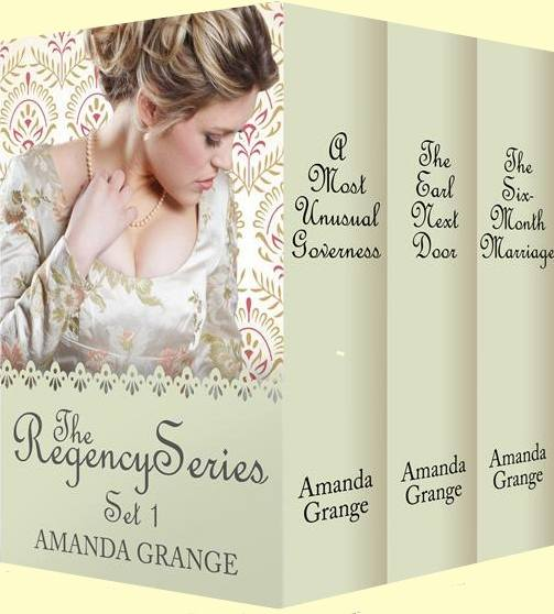 Regency Box Set 1 Cover